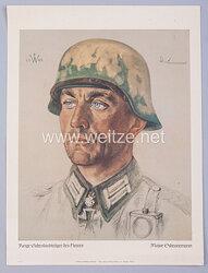 Willrich farbiges Plakat aus der Serie -