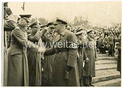 Foto, Angehörige der NSDAP bei einer Veranstaltung