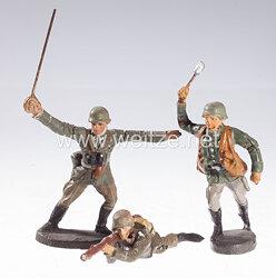 Elastolin - Heer 3 Soldaten stürmend