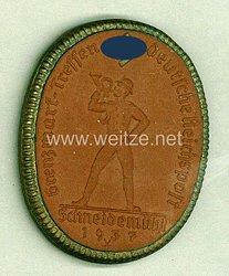 """III. Reich - Erinnerungsmedaille """" Grenzmark-Treffen Deutsche Reichspost Schneidemühl 1937 """""""