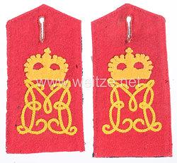 Bayern Paar Schulterklappen für Mannschaften im 2. Infanterie-Regiment Kronprinz