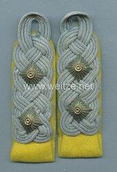 Wehrmacht Heer Paar Schulterstücke für einen Oberst der Nachrichtentruppe