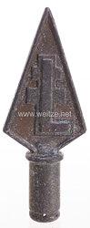 Ungarn 2. Weltkrieg - Fahnenspitze der Levente-Bewegung