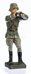 Lineol - Heer Offizier mit Fernglas stehend