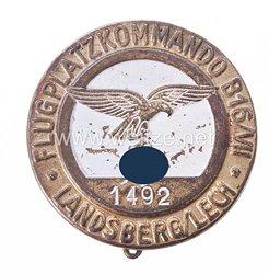 Flugplatzkommando B16/VII Landsberg/Lech