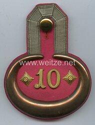 Preußen Einzel Epaulette für einen Rittmeister im Ulanen-Regiment Prinz August von Württemberg (Posensches) Nr. 10