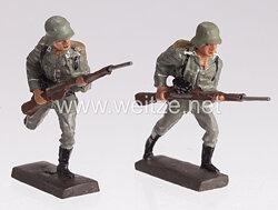 Lineol - Heer 2 Soldaten stürmend