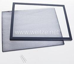 Helmut Weitze kleinere Ordensvitrine - Showcase  31,5 x 21,0 cm
