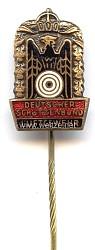 """Deutscher Schützenbund ( DSB ) - Kleine Schießnadel in Bronze """" Luftgewehr """""""