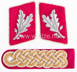 Paar Kragenspiegel und Schulterstück für einen SA-Oberführer im Stab der Obersten SA-Führung