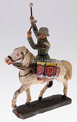 Elastolin - Heer Kesselpauker auf Schrittpferd