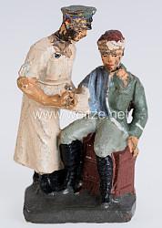 Elastolin - Heer Arzt einen Verwundeten behandelnd