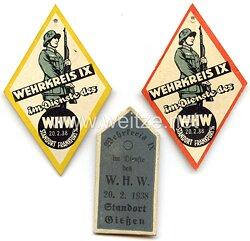 WHW - Tag der Wehrmacht - Wehrkreis IX - Kurhessen, Hessen-Nassau 20.02.1938