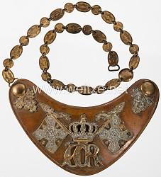 Königreich Preußen Ringkragen für Fahnenträger