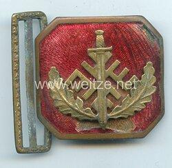 Lettland Feldbindenschloss für Offiziere der freiwilligen paramilitärischen Vereinigung Aizsargi bis 1940