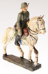 Lineol - Heer Reiter mit Karabiner auf Schrittpferd