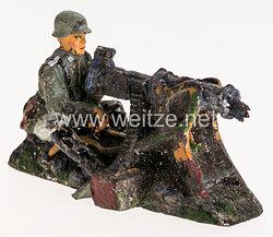 Elastolin - Heer MG Schütze sitzend am SMG 08/15