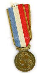 """Frankreich Medaille """"Société Nationale d´Encouragement au Bien"""""""