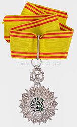 Königreich Tunesien Orden des Ruhmes - Nishan Iftikhar Halskreuz