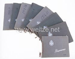 Preussen Orden Pour le Mérite : 8 Fotoalben aus dem Besitz von Generalleutnant Detlev von Vett, Kommandeur der 216. Infanterie Division.