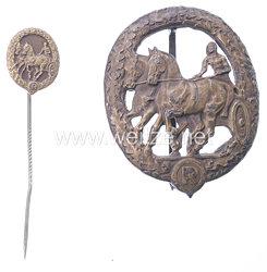 Deutsches Fahrerabzeichen in Bronze mit Miniatur
