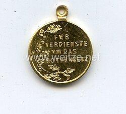 Preussen Rot-Kreuz-Medaille 3.Klasse - Miniatur