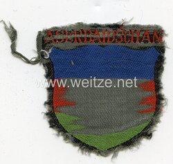 Heer Ärmelschild eines aserbaidschanischen Freiwilligen in der Wehrmacht