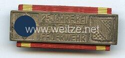 III. Reich / Freistaat Baden Feuerwehrehrenzeichen für 25 Jahre, bis 1936