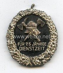 Preussen Freistaat Preußischer Landesfeuerwehr Verband Ehrenzeichen für 25 Jahre