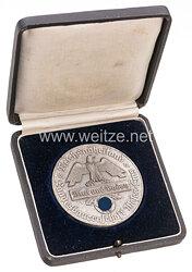 Reichsnährstand Landesbauernschaft Weser-Ems - große nichttragbare Auszeichnungsmedaille in Silber für Tierzucht