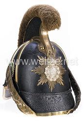 Sachsen Helm Modell 1867 für Mannschaften der Reiter-Regimenter