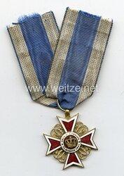 Orden der Krone von Rumänien 1. Modell Offizierskreuz