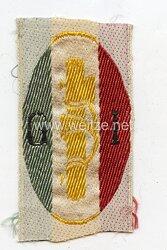 Italien 2. Weltkrieg Ärmelabzeichen der Faschistischen Jungendorganisation G I