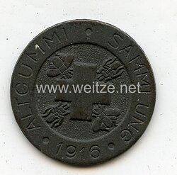 """1. Weltkrieg Spendenmedaille """"Altgummi Sammlung 1916"""""""