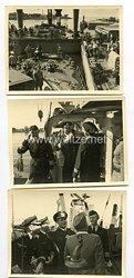 Kriegsmarine Fotokonvolut, Aufnahmen eines Marinesoldaten in Le Harve