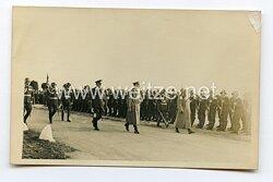 III. Reich Foto, Adolf Hitler und Benito Mussolini schreiten die Front ab