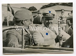 Luftwaffe Pressefoto, Hermann Göring und Luftmarschall Italo Balbo in Berlin 10.8.1938