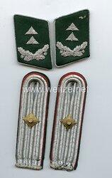 Luftwaffe Paar Kragenspiegel und Schulterstücke für einen Beamten