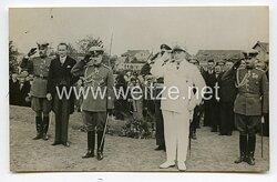 III. Reich Pressefoto, Hermann Göring und bulgarische Offiziere