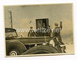 Foto, Abfahrt von Generälen der Wehrmacht