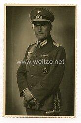 Wehrmacht Portraitfoto, Hauptmann mit Eisernen Kreuz 1. Klasse 1914