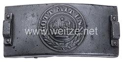 Preussen Koppelschloss für Mannschaften Telegrafentruppe ab 1914