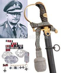 Nachlass des ehem. Träger des Eichenlaubs zum Ritterkreuz des Eisernen Kreuzes Oberleutnant Wilhelm Niggemeyer.