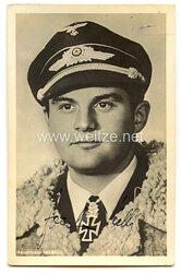 Luftwaffe - Originalunterschrift von Ritterkreuzträger Hauptmann Joachim Helbig