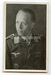Luftwaffe - Originalunterschrift von Ritterkreuzträger Oberfeldwebel Hellmuth Kahle