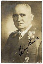 III. Reich - Orignalunterschrift von Ludwig Siebert, Ministerpräsident von Bayern und Träger des Goldenen Ehrenzeichen der NSDAP