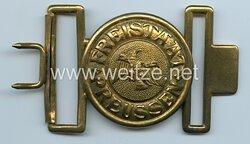 Preussen Koppelschloß für Offiziere der Verkehrs- u. Wasserschutzpolizei