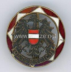 Österreich patriotische Brosche