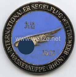 III. Reich Plakette Internationaler Segelflug-Wettbewerb Wasserkuppe Rhön - 4.18.Juli 1937