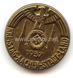 III. Reich - Kreistag Aachen - Stadt - Land 1937